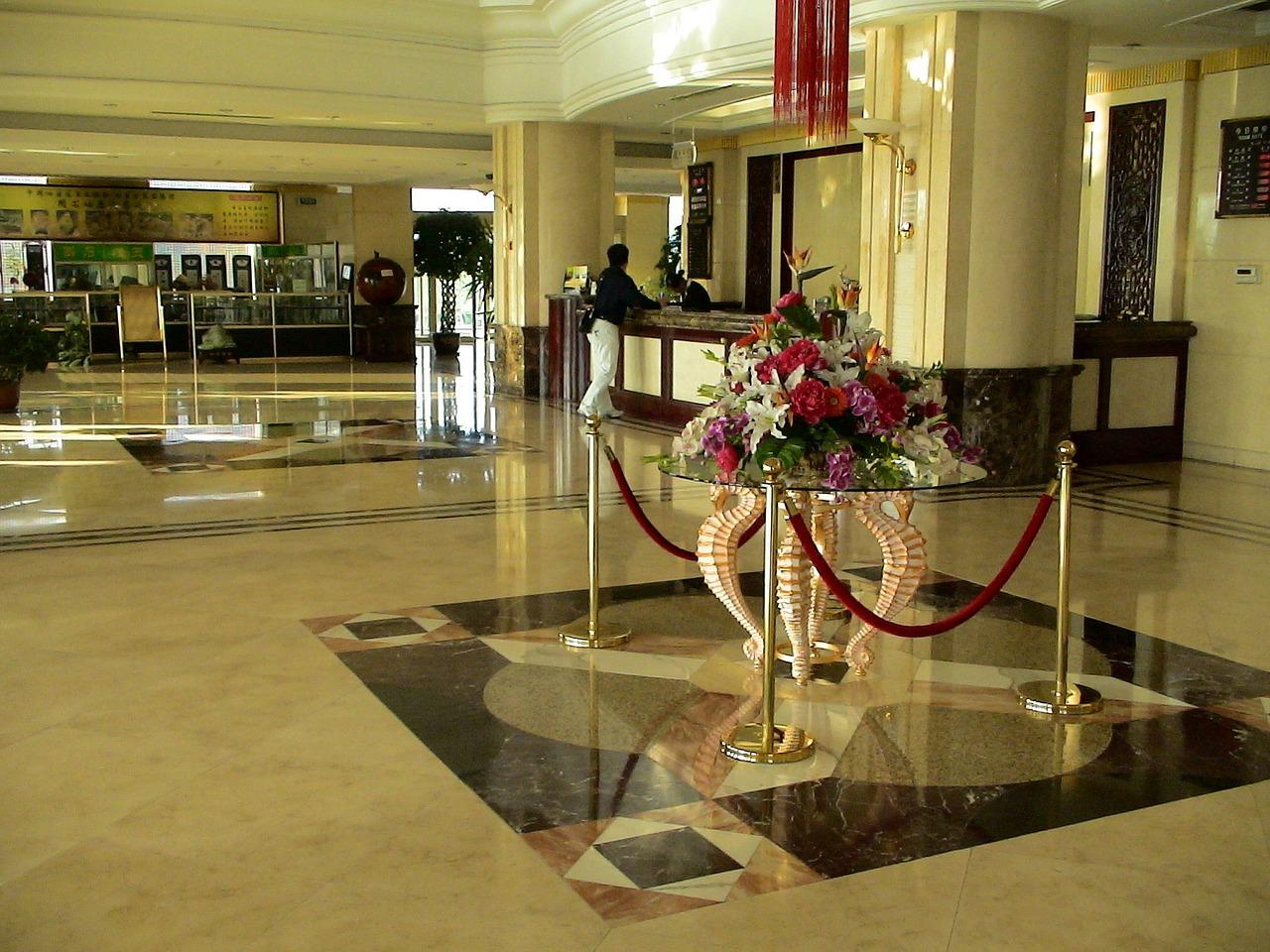 Konsjerż w hotelu